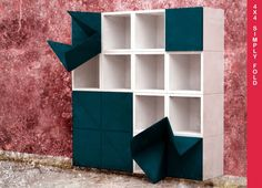 4X4 SIMPLY FOLD BOOKCASE