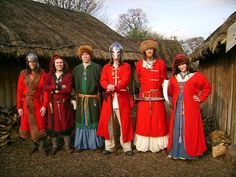 Viking and early Saxon coats and caftans