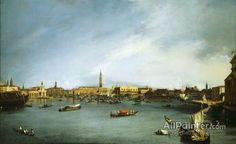 Giovanni Antonio Canal (called Canaletto),The Bacino Di San Marco, Venice, Seen From The Giudecca oil painting reproductions for sale