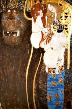 Gustav Klimt: Beethovenfries (1902) - Sezession, Wien
