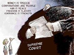 Political Cartoons of the Week: Supreme Court Doublespeak