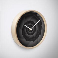 'Tech-spiral Art' Clock by Rizwana Khan Spiral Art, Purple Marble, Clock, Home Decor, Watch, Decoration Home, Room Decor, Clocks, Home Interior Design