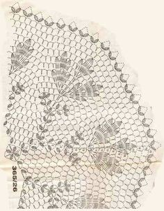 Picasa Web Albums - crochet doily pattern diagram. Good inspiration for a poncho or cape
