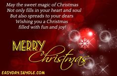 Christmas Messages For Teachers | Merry Christmas Quotes Wishes ...
