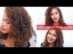 DEFINIÇÃO E VOLUME - Como finalizo meus cachos Atualizado   Mari Morena - YouTube