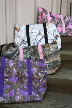 Camo Overnight bags - Hand Made Usa , Water Proof Fabric , !000 D Cordura Large 15H x 16W x7D  http://www.minachmitts.com/collections/overnight-bags/products/overnight-bag-camo-large