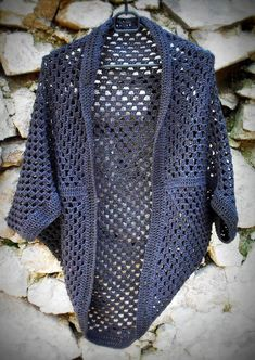 Háčkovaný Cardigan Crochet Cardigan Pattern, Polka Dot Top, Tweed, Knitting, Sweaters, Women, Fashion, Crochet Blankets, Needlepoint