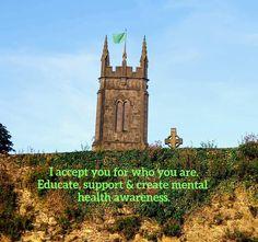 Green Ribbon, Mental Health Awareness, Big Ben, Education, Building, Travel, Viajes, Buildings, Destinations