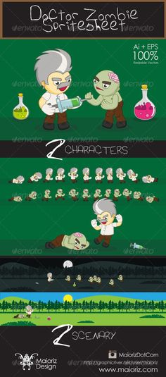 Realistic Graphic DOWNLOAD (.ai, .psd) :: http://vector-graphic.de/pinterest-itmid-1006120045i.html ... Doctor Zombie Spritesheet ...  2d, action, adventure, android, animation, brain, cartoon, character, death, doctor, flash, game, guy, hero, ios, ipad, iphone, mobile, platform, scroller, set, sheet, sprite, vector, zombie  ... Realistic Photo Graphic Print Obejct Business Web Elements Illustration Design Templates ... DOWNLOAD :: http://vector-graphic.de/pinterest-itmid-1006120045i.html