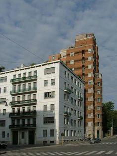 Gio Ponti, Palazzo, Modern Architecture, Multi Story Building, Landscape, Milano, Cityscapes, Architects, Nostalgia