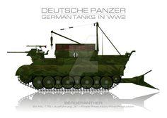 Sd. Kfz. 179 - German tank - Panzer by panzerblog.deviantart.com on @DeviantArt