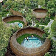 Perfect place for your honeymoon PLACE: Dusit Devarana Hot Springs & Spa Conghu… – All Pictures Honeymoon Places, Vacation Places, Dream Vacations, Vacation Spots, Landscape Design, Garden Design, Health Retreat, Spring Spa, Dream Pools