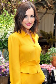 The 12 Best Haircuts for Summer 2014 - Camilla Belle Rumpled Bob