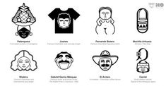 Iconos de Colombia | OLDSKULL.NET