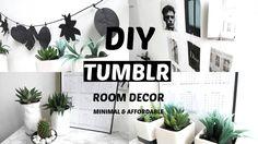Diy Tumblr room decor   Minimal & Affordable   Back to school