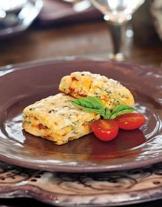 Infused with the flavors of Italy—sun-dried tomatoes, Castelvetrano olives, and Parmesan cheese—these Panzanella Scones are like a little trip to Italy.