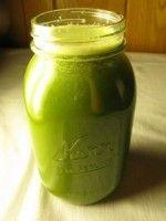 Green Juice at Crazy Sexy Diet