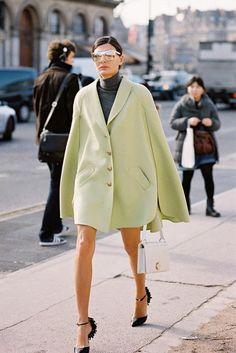 Paris Fashion Week AW 2014....Giovanna