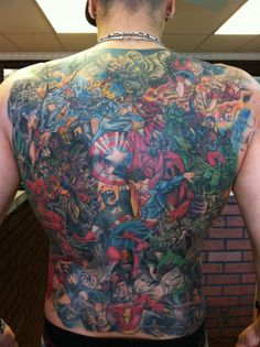 #marvel #tattoo #tattoos #ideas #designs #men #formen #menstattooideas