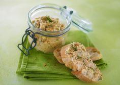 Rillettes de saumon par le chef Eric Sapet  #recette #chef  #apéritif #rillettes #saumon