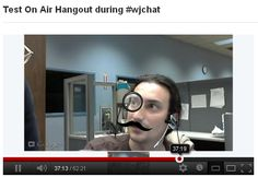 Tested a Hangout On Air today. Possibilities are endless.