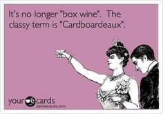 The Correct Name for Boxed Wine