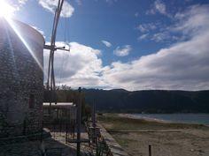 The Windmill Horlofe in Lefkada