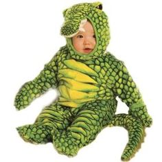 ## VERY Cute ##: Alligator Toddler Costume Size 6-12 months Small