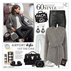 """""""Wanderlust Wonderful: Airport Style"""" by mcheffer ❤ liked on Polyvore featuring Yves Saint Laurent, American Vintage, Whistles, Beats by Dr. Dre, Tod's, MICHAEL Michael Kors, Tiffany & Co., Lizzie Fortunato and airportstyle"""