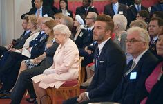 Royally proud: The former footballer said that one of his biggest honours was receiving his OBE from the Queen
