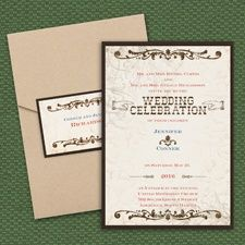 Rustic River - Layered Pocket Invitation  http://occasions.carlsoncraft.com/