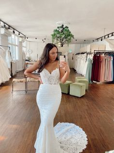 Flynn's divinely boned bodice and her enchanted lace will have you weak at the knees. She's a heart breaker. Flynn comes in classic ivory with ivory lace or in pebble lining with ivory lace. Enchanted, Bodice, Ivory, Bridal, Wedding Dresses, Heart, Classic, Lace, Fashion