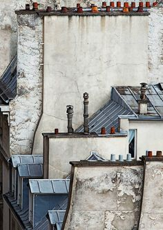 Michael Wolf - Paris Roof Tops via Mixed Grill