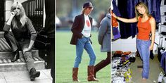 What jeans looked like the year you were born  - HarpersBAZAAR.co.uk