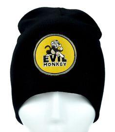 Evil Monkey Beanie Alternative Clothing Knit Cap Family Guy  #patch #hardcoregamer #gothic #horrormovie #horrorclothing