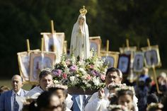 Our Lady of Fatima Portugal, Lady Of Fatima, Mary And Jesus, International Festival, Family Roots, Blessed Virgin Mary, Spiritual Warfare, Blessed Mother, Our Lady