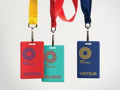 Parc olympique | Branding by lg2boutique, via Behance