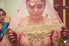 Bindya + Abhigyan #bride #bridetobe #gettingready #destinationwedding #bridallehnga #bridaljewellery #fridaypic www.fridaypic.com