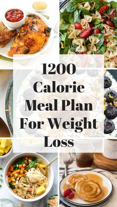 1200 Calorie Meal Plan for Weight Loss If you want to lose weight try eating 1200 calories a day in the beginning of your weight loss journey. Here is a 1200 calorie meal plan for losing weight: Healthy Recipes, Low Calorie Recipes, Diet Recipes, Low Calorie Vegetarian Meals, 300 Calorie Lunches, 500 Calorie Dinners, Keto Meal, Weight Loss Meal Plan, Diet Plans To Lose Weight