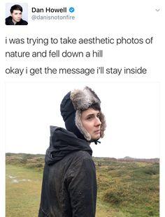It's natures fault.