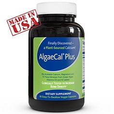 Best Calcium Supplement ● AlgaeCal Plus is a Natural, Plant Based Calcium Supplement & Bone Building Formula ● Increases Bone Density Without Side Effects ● For Women and Men 45 And Older Looking to Prevent or Recover From Osteopenia & Osteoporosis ● The Only Organic Calcium Supplement Clinically Supported to Increase Bone Density!  http://www.personalcareclub.com/best-calcium-supplement-%e2%97%8f-algaecal-plus-is-a-natural-plant-based-calcium-supplement-bone-building-formula-%e2%97%..