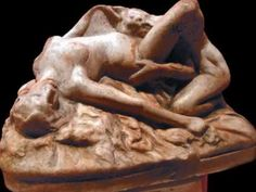Two Lovers sculpture made of cast stone and colored in antique stone finish. For sale by Ancient Sculpture Gallery. Wall Sculptures, Lion Sculpture, Male Torso, Cast Stone, Painting & Drawing, Lovers, Hand Painted, Antiques, Artwork