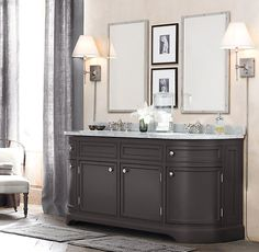 1000 Images About Restoration Hardware Style Bathroom Vanity On Pinterest Restoration