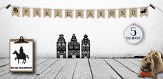 Sinterklaas decoratie | Kom helemaal in de sinterklaassfeer met deze leuke sinterklaas versiering, versier je huis naar hartenlust!