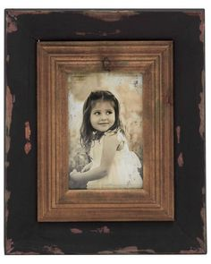 Vintage Styled Wood Photo Frame with Patchy Texture - Cherish your memories by adding your most unforgettable photo to this wood photo frame. This photo frame is made of quality wood that will last for years. This photo frame is polished in brown color shades with patchy texture near its borders. Square shaped this photo frame will efficiently fit to any bare space and add charm to your walls.