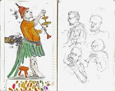 Keeping a visual diary - an image a day - free up creativity with loosened requirements
