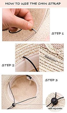 Siggi Floppy Summer Sun Beach Straw Hats for Women Accessories Wide Brim  UPF 50 Packable 56 473e6ca25bdc