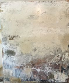 No Words By Amy Young • 60 x 72 • Oil & Mixed Media on wooden panel •  available through the artist •