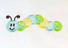 MCA Caterpillar - $3.50 : MCA Applique, Designs And Supplies