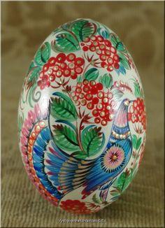 Украинский Петриковка Писанка Недвижимость GOOSE пасхальное яйцо | eBay